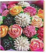 Floral Buffet Wood Print