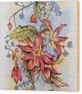 Floral Display 1 Wood Print