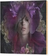 Floral Dreams Wood Print