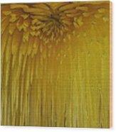 Floral Falls 5 Wood Print