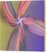 Floral Fantasy 021711 Wood Print