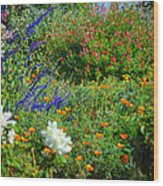 Floral Flow Wood Print