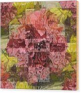 Floral Flux Wood Print
