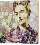 Floral Frida Vii Wood Print