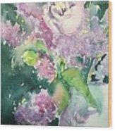 Floral Friday Jan 6 2016 Wood Print