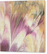 Floral Fusion Wood Print