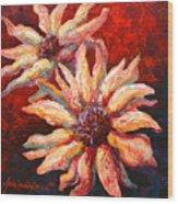 Floral Mini Wood Print