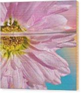 Floral 'n' Water Art 6 Wood Print