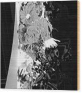 Floral No1 Wood Print