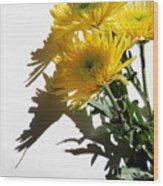 Floral No4 Wood Print