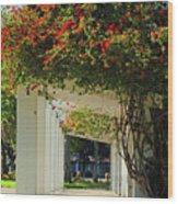 Floral Or Art Wood Print