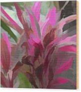 Floral Pastel Wood Print by Tom Prendergast