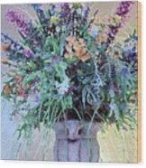 Floral  Piece Wood Print
