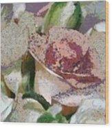 Floral Sand Wood Print