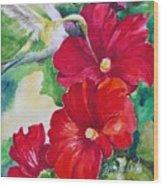 Floral Series 5 Wood Print
