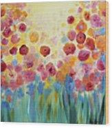 Floral Splendor II Wood Print
