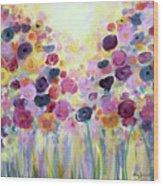 Floral Splendor IIi Wood Print