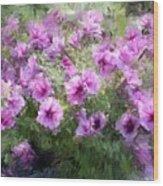 Floral Study 053010 Wood Print