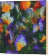 Floral Study 053010a Wood Print