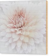 Floral Watercolor Background Wood Print