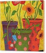 Floralicious Wood Print
