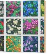 Floralies Wood Print