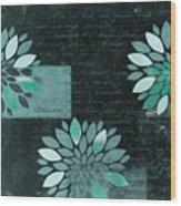 Floralis - 8181cd Wood Print