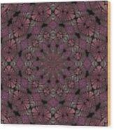 Florametric Mandala-12 Wood Print