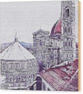 Florence - 19 Wood Print