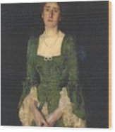 Florence Humphris  Wood Print