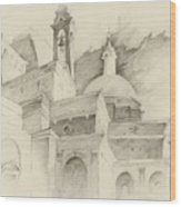Florence Italy Wood Print