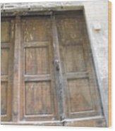 Florentine Door 4 Wood Print