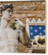 Florentine Icons Wood Print