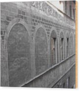 Florentine Stone Graffiti 2 Wood Print