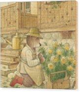 Florentius The Gardener04 Wood Print