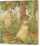 Florentius The Gardener12 Wood Print