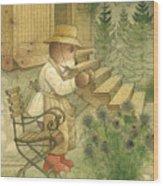Florentius the Gardener20 Wood Print