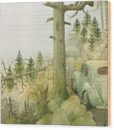 Florentius The Gardener22 Wood Print