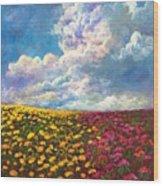 Flores De Mexico Wood Print