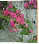 Flores Wood Print