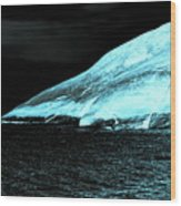 Fluorescent Rock Wood Print