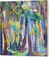 Floresta I Wood Print
