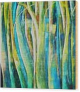Floresta Verde  Wood Print