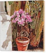 Floret Nouveau Wood Print