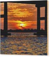 Florida Before Sunset  Wood Print