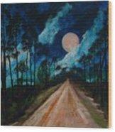 Florida Burn - Creative Tallahassee 2009 Wood Print