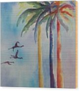 Florida Color Wood Print