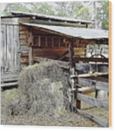 Florida Cracker Barn Wood Print