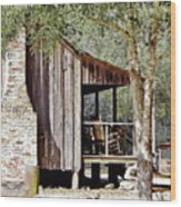 Florida Cracker Homestead Wood Print