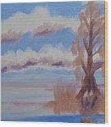 Florida Cypress Wood Print